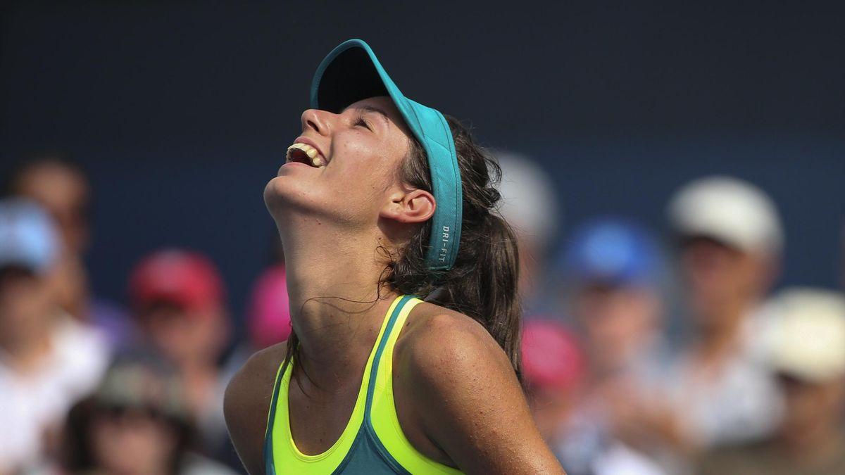 Océane Dodin à l'US Open 2015.