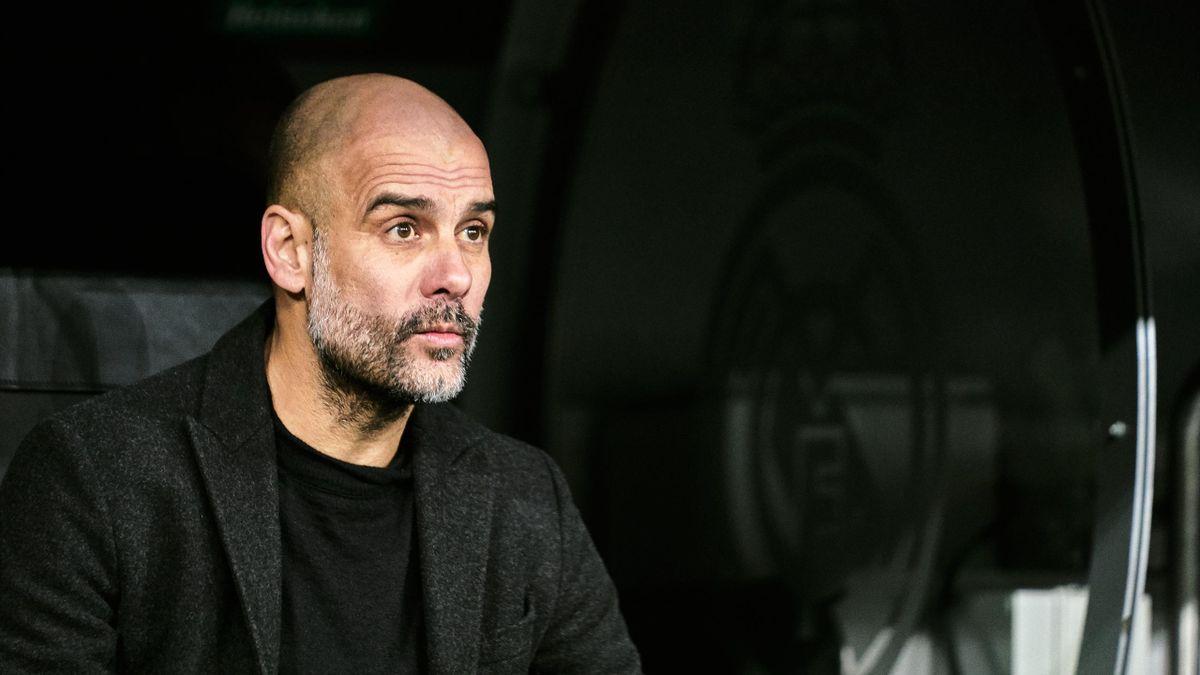 Pep Guardiola Bernabeu