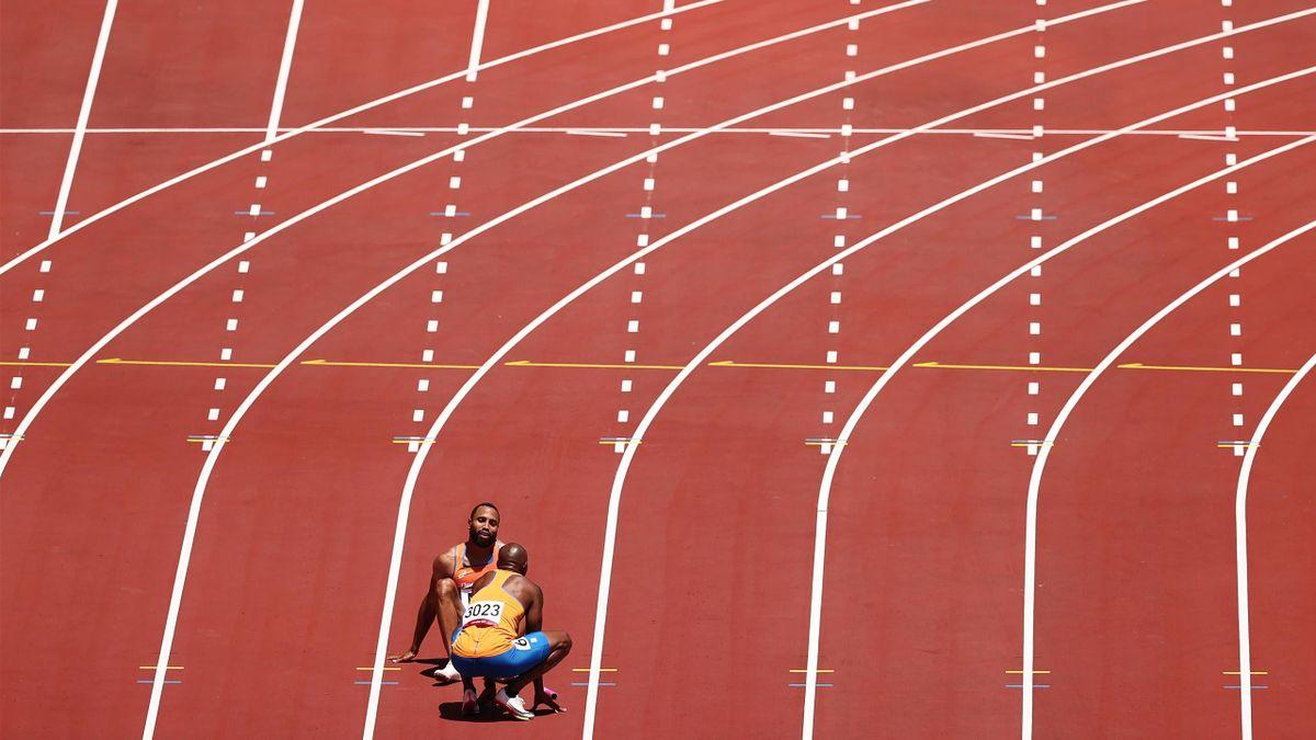 Tokyo 2020   Laatste olympische sprint Churandy Martina mislukt compleet