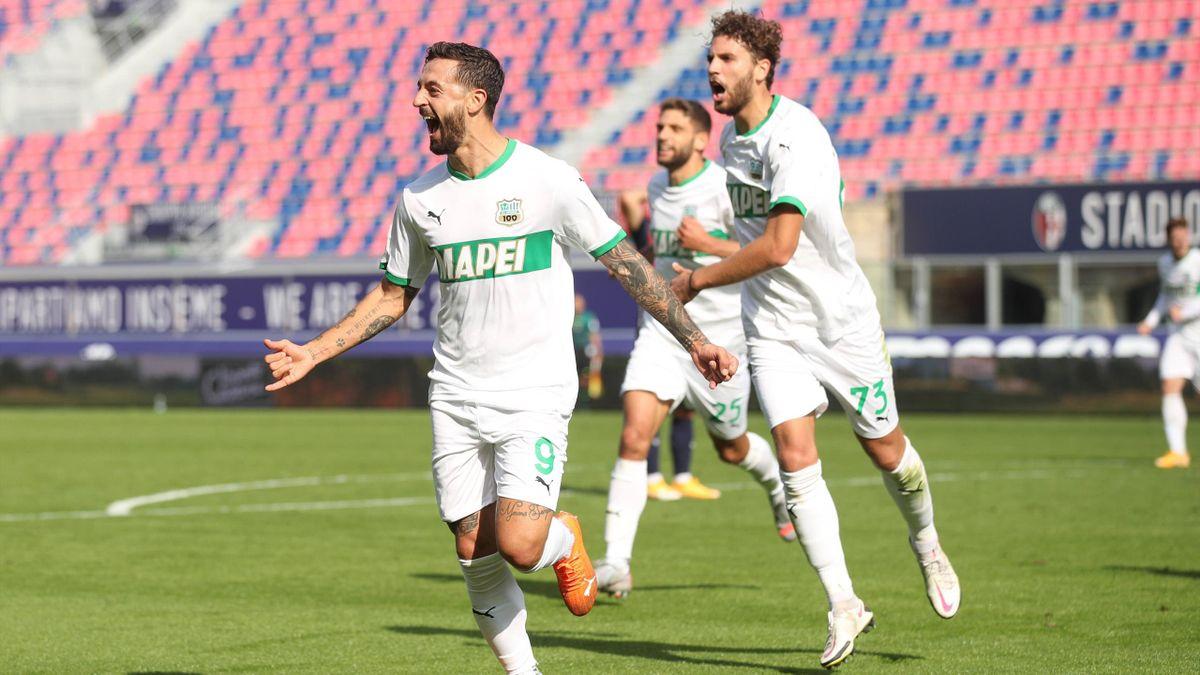 Caputo - Bologna-Sassuolo - Serie A 2020-2021