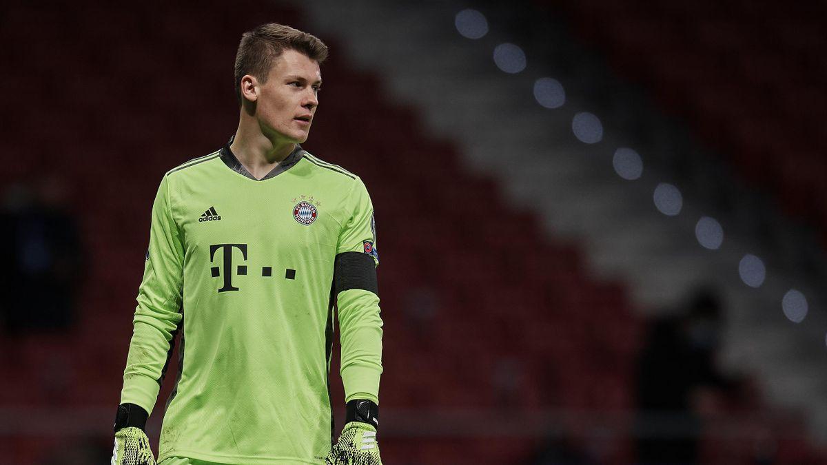 Alexander Nübel spielt seit 2020 für den FC Bayern München