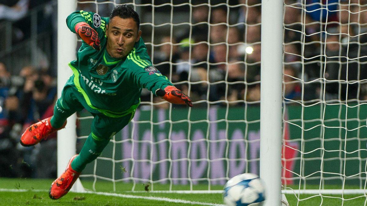 Keylor Navas (Real Madrid) contre Paris Saint-Germain en Ligue des Champions le 3 novembre 2015