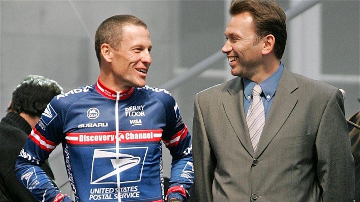 Lance Armstrong und Johan Bruyneel