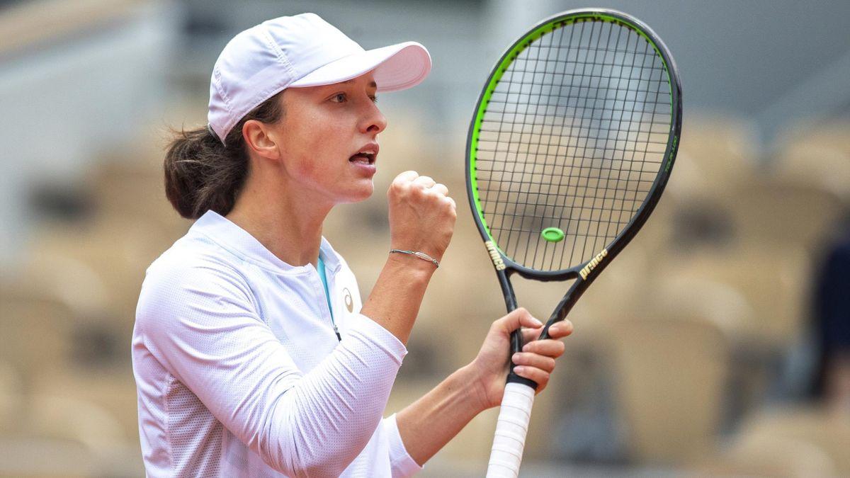 Iga Świątek w finale French Open zagra z Sofią Kenin
