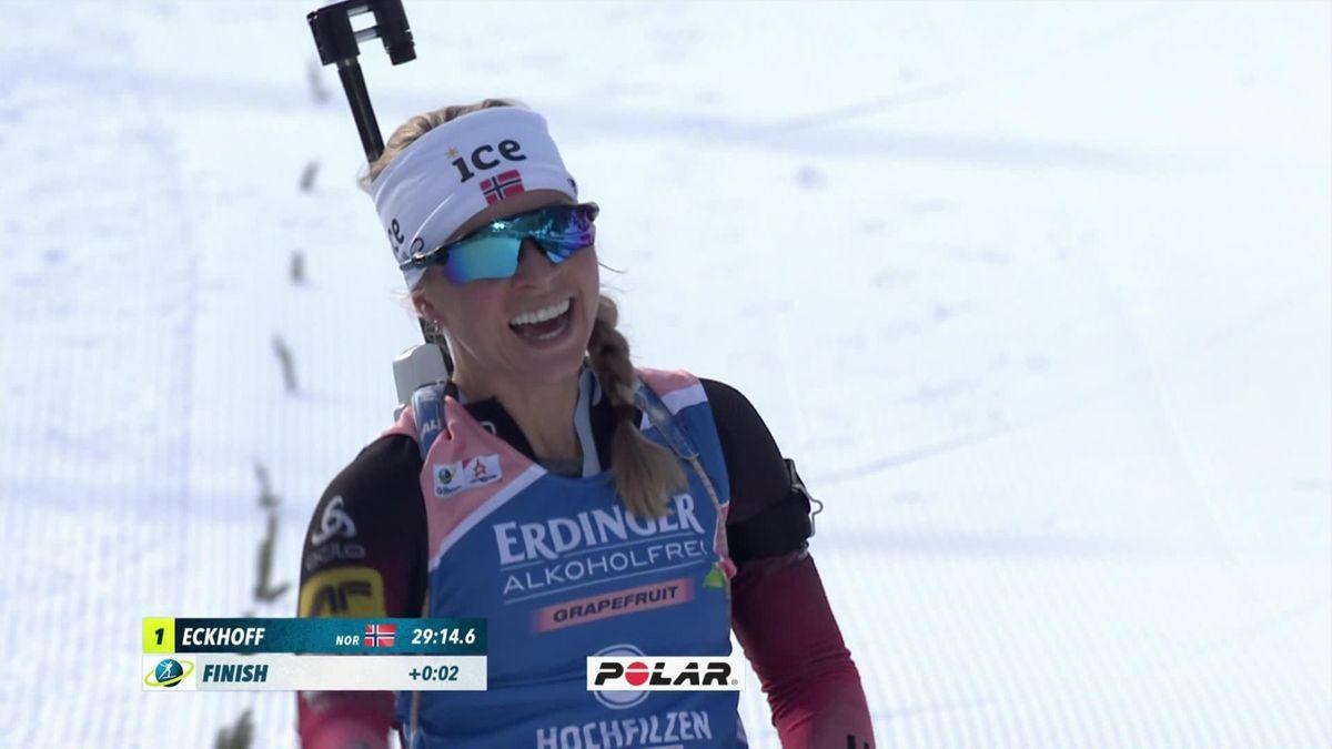 Biathlon- Hochfilzen : 10km pursuit women