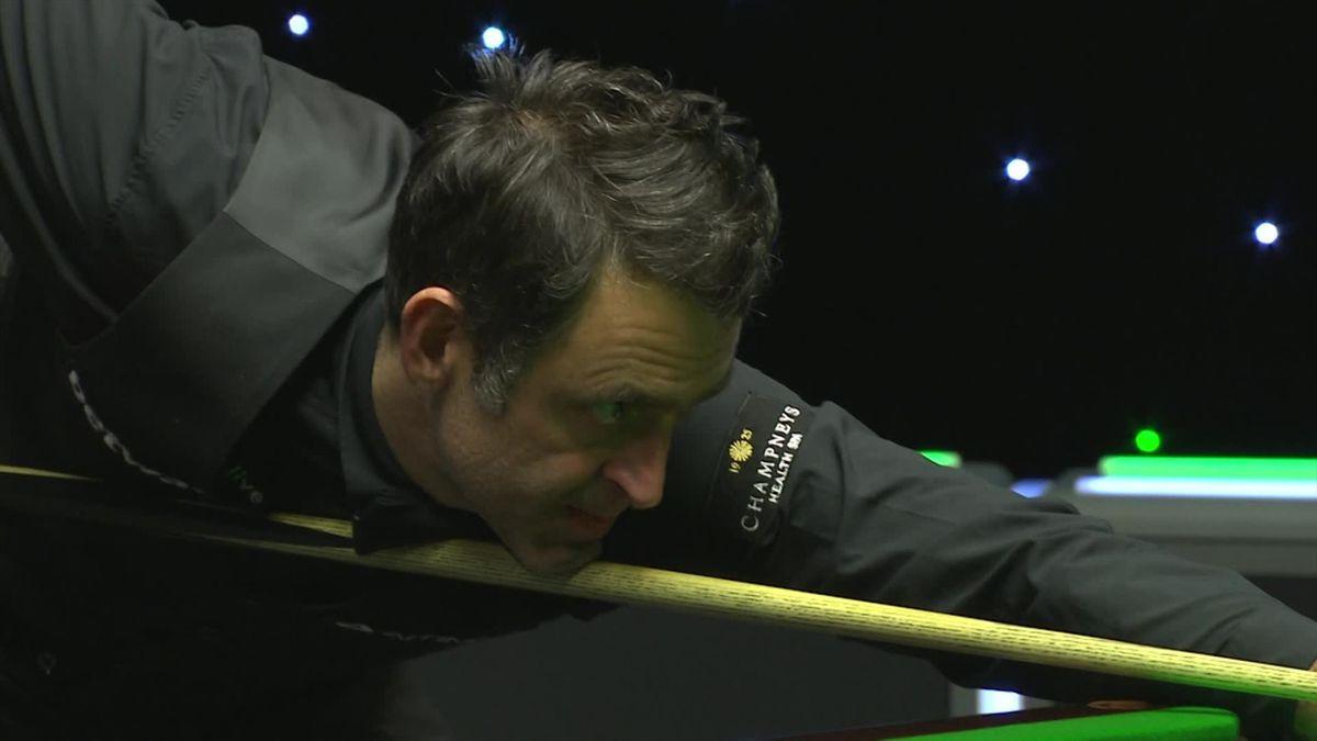 Snooker UK Championship: Ronnie O'Sullivan wins 6-0 against Fernandez (end of last frame)