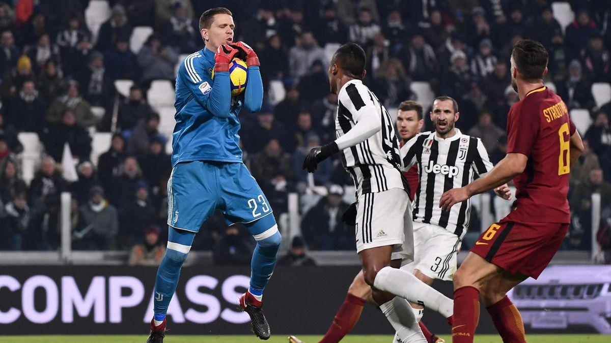 Wojciech Szczesny, Juventus-Roma, LaPresse