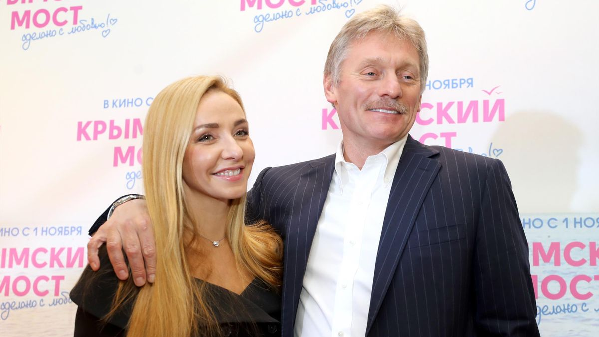 Татьяна Навка и Димтрий Песков