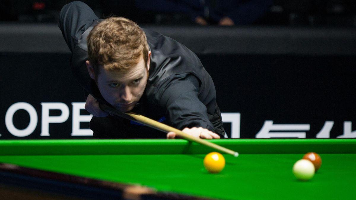 Ben Woollaston in action.