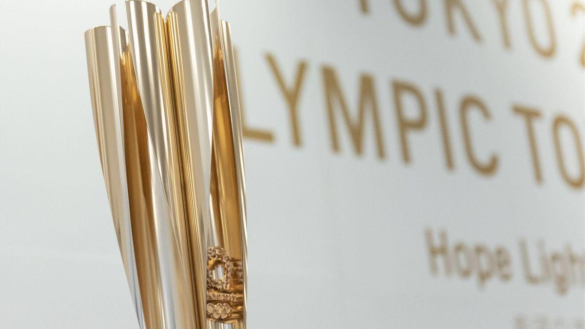 A tokiói olimpia fáklyája