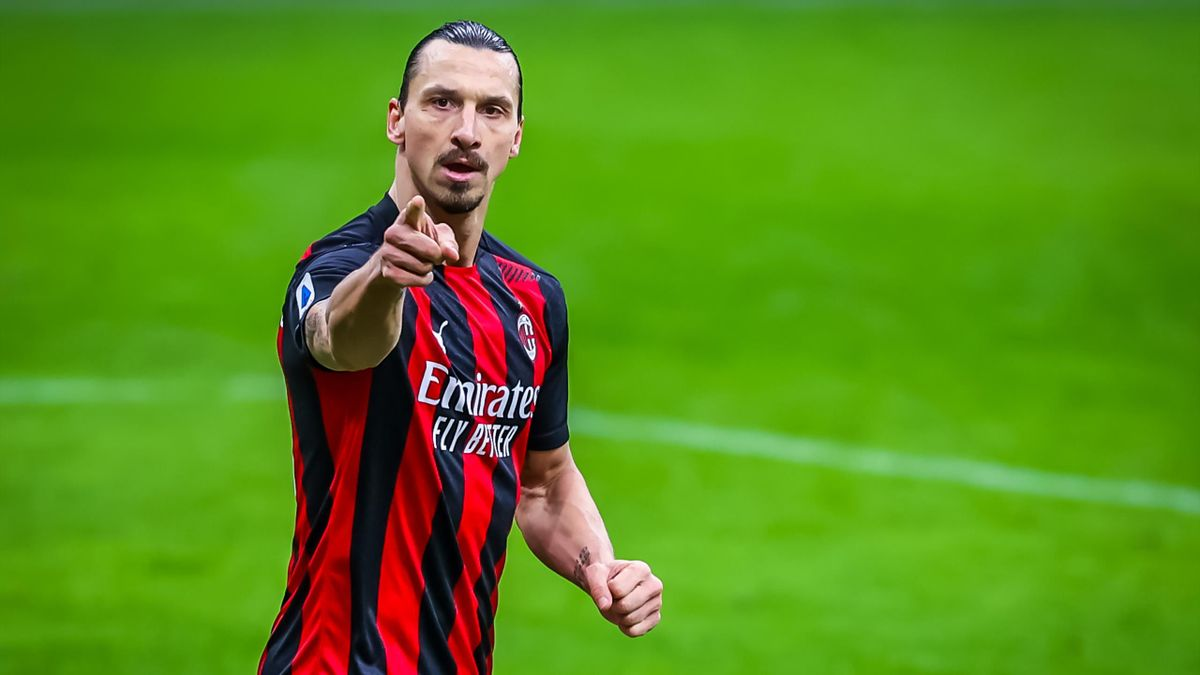 Zlatan Ibrahimovic - Milan-Crotone - Serie A 2020/2021 - Getty Images
