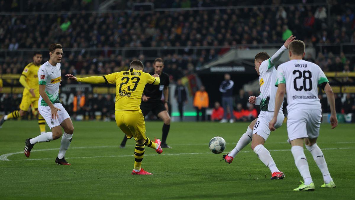 Borussia Dortmund gegen Borussia Mönchengladbach | Thorgan Hazard