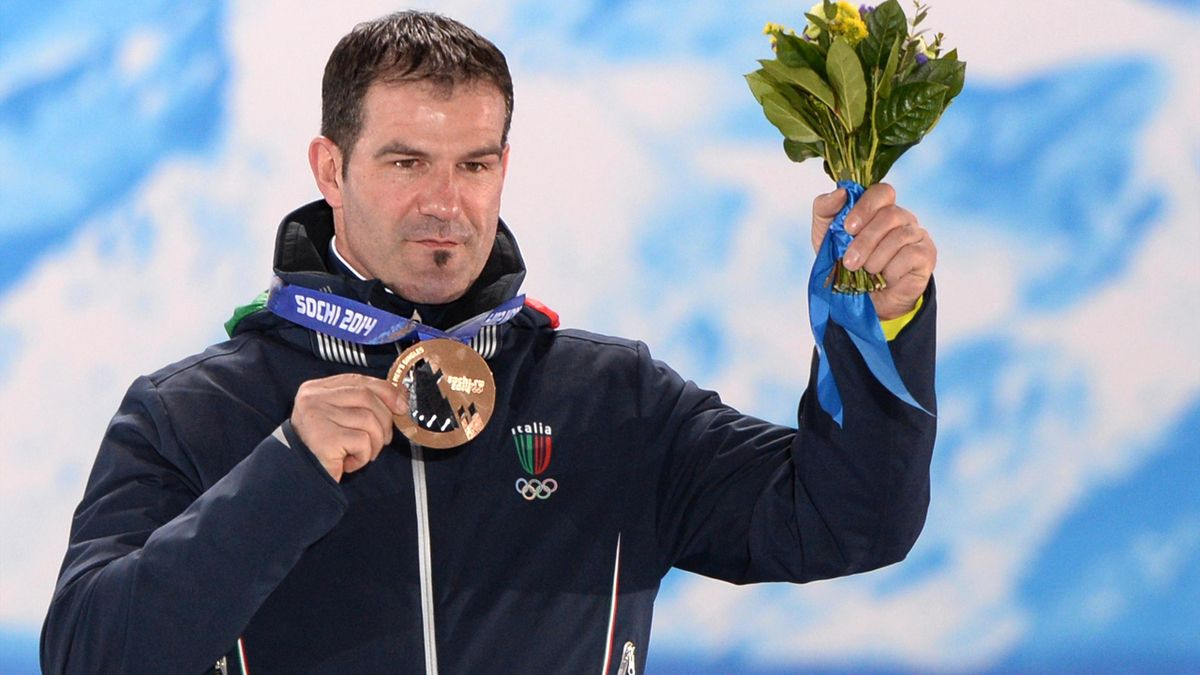 Armin Zöggeler - Sochi 2014 (AFP)