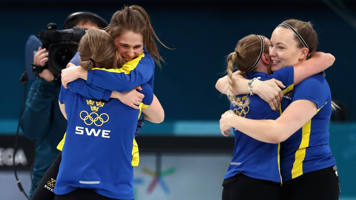 Schweden holt Gold im Frauen-Curling