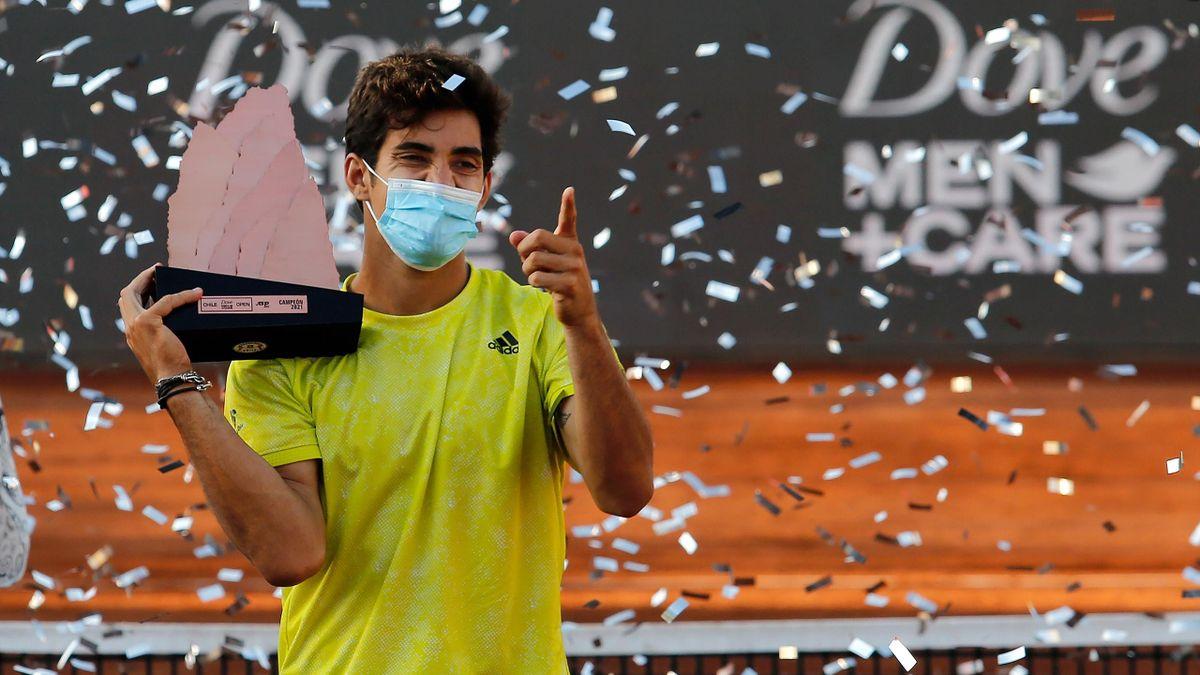 Cristian Garin a décroché son cinquième titre en battant à Santiago