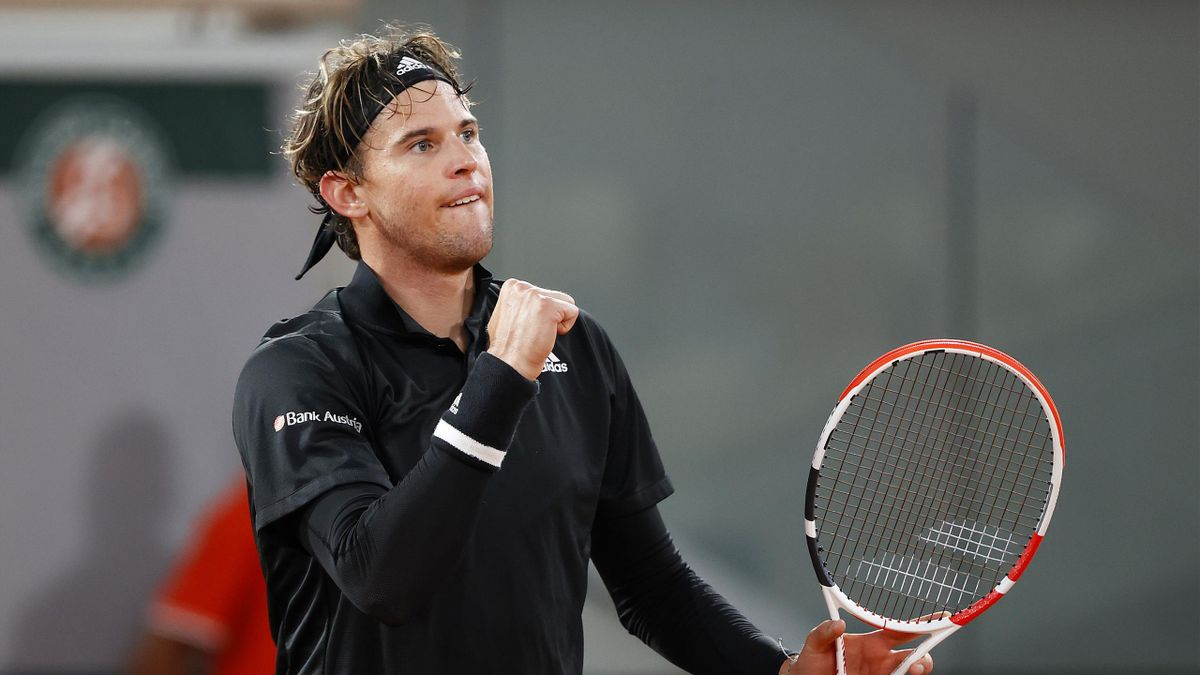 French Open Dominic Thiem Maintains Perfect Record In Paris With Casper Ruud Win Eurosport