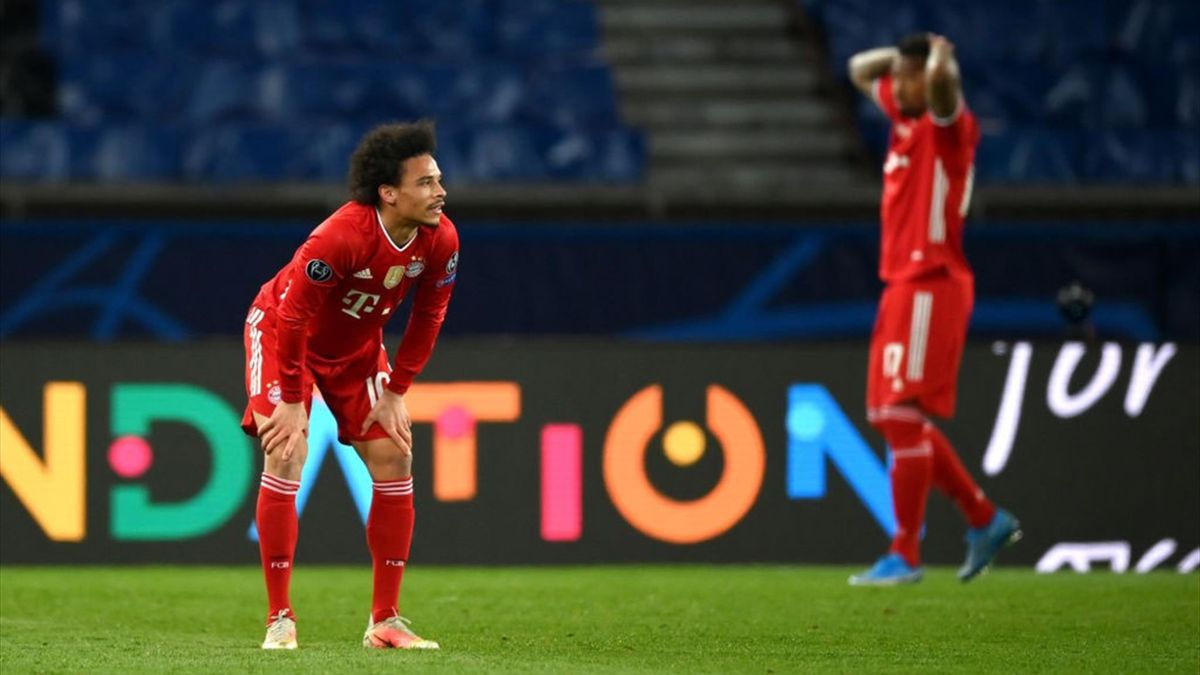 Leroy Sané und Jérôme Boateng vom FC Bayern