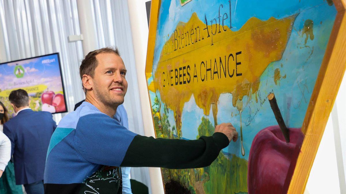 Sebastian Vettel hat ein Praktikum bei einem Bio-Bauernhof gemacht