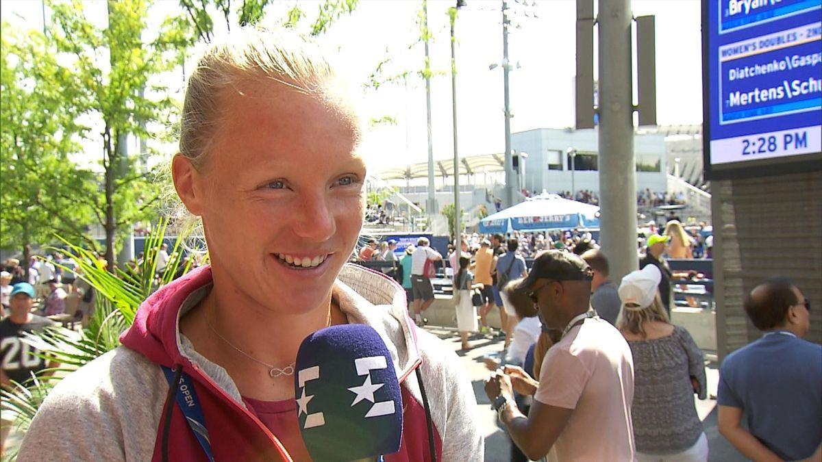 US Open Day 6: Itw Kiki Bertens