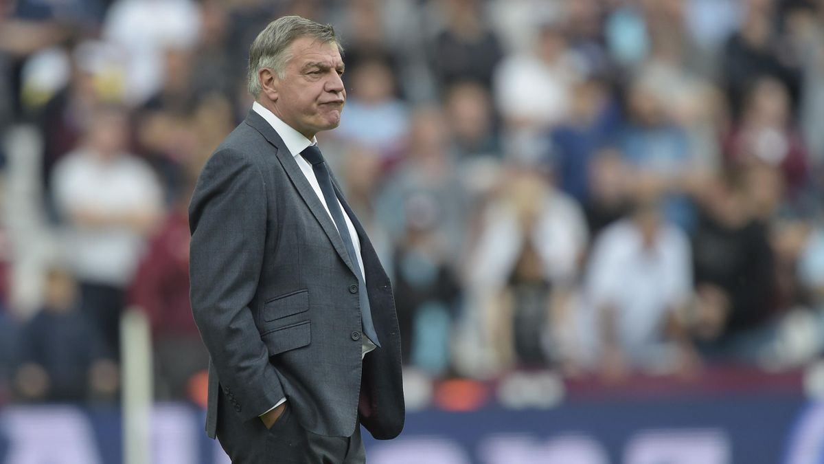 Sam Allardyce of Everton during the Premier League match between West Ham United and Everton at London Stadium on May 13, 2018 in London, England.
