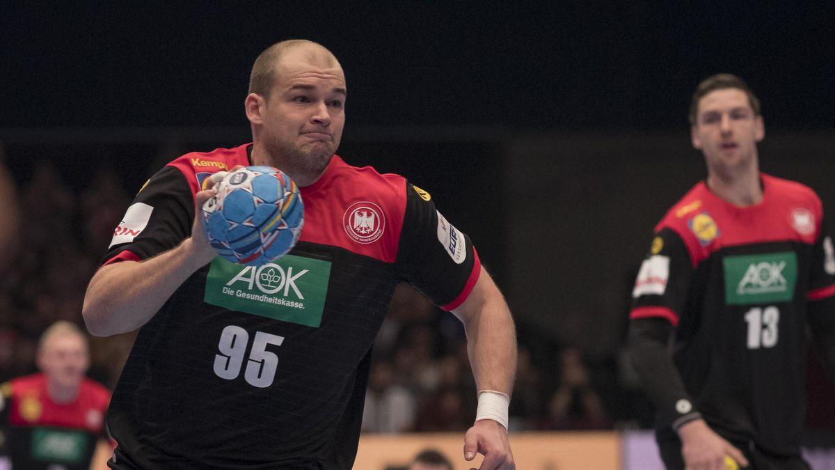 Paul Drux bei der EM 2020