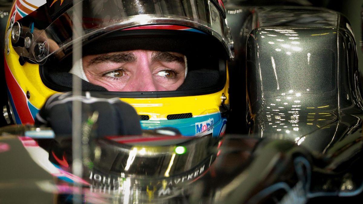 Fernando Alonso (McLaren-Honda), en el Gran Premio de Malasia