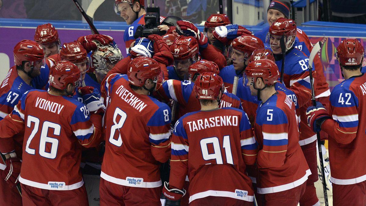 2014 JO Sotchi Hockey Russie