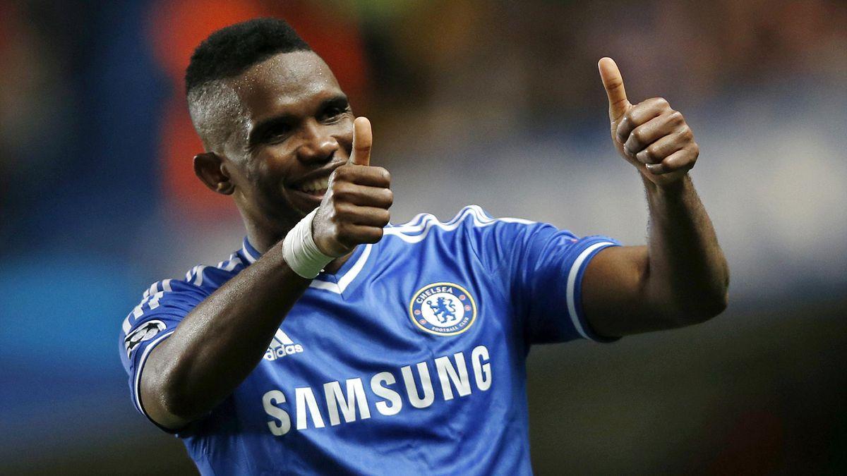 Ligue des champions 2014 Cheslea Samuel Eto'o