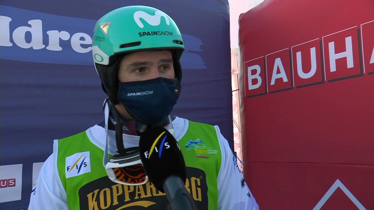 Snowboard - World Championship : Interview Lucas Eguibar