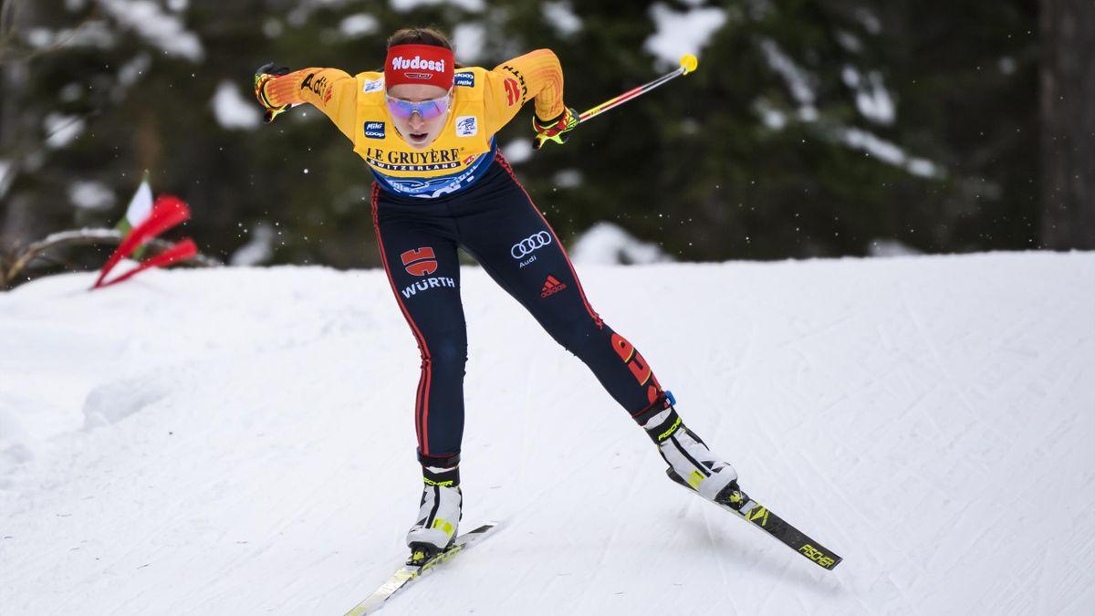 Katharina Hennig ist erneut in die Top Ten gelaufen