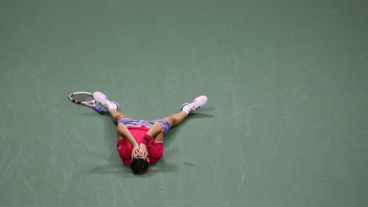 Dominic Thiem, vainqueur de son premier titre à l'US Open