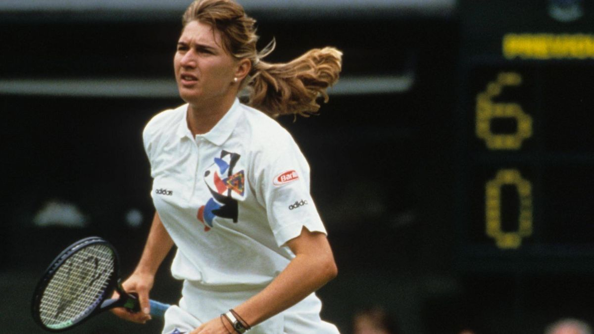 Steffi Graf in Wimbledon 1993