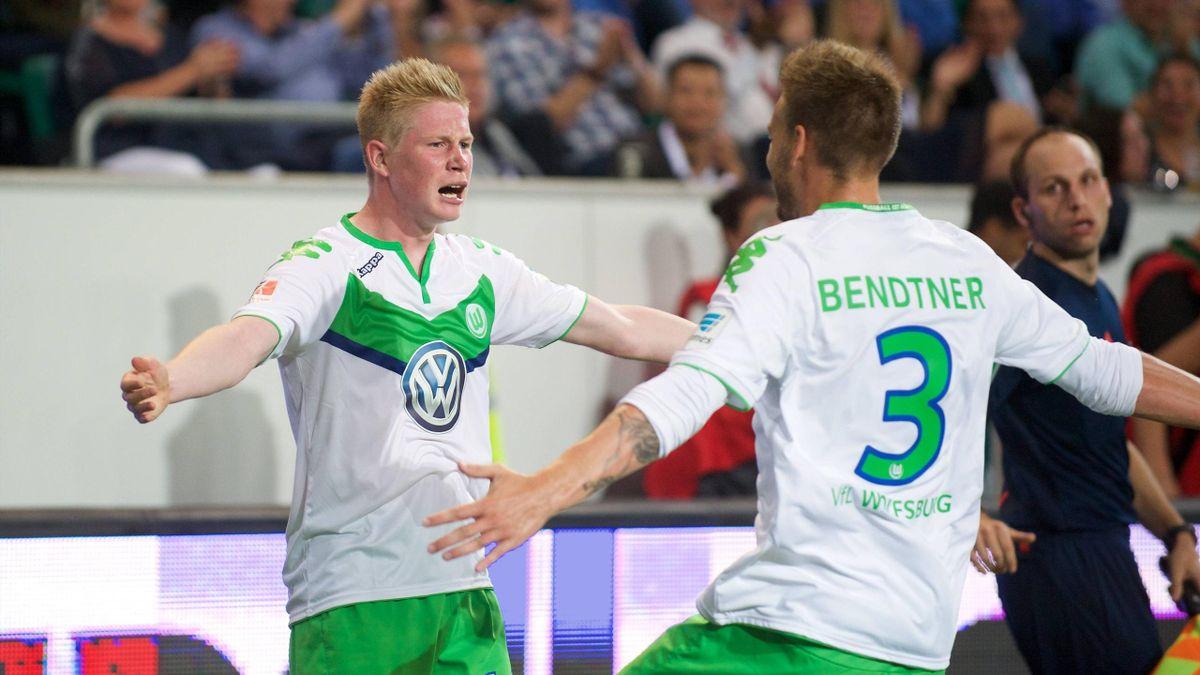 Die Garanter für den Sieg gegen den FC Bayern: Kevin de Bruyne und Nicklas Bendtner