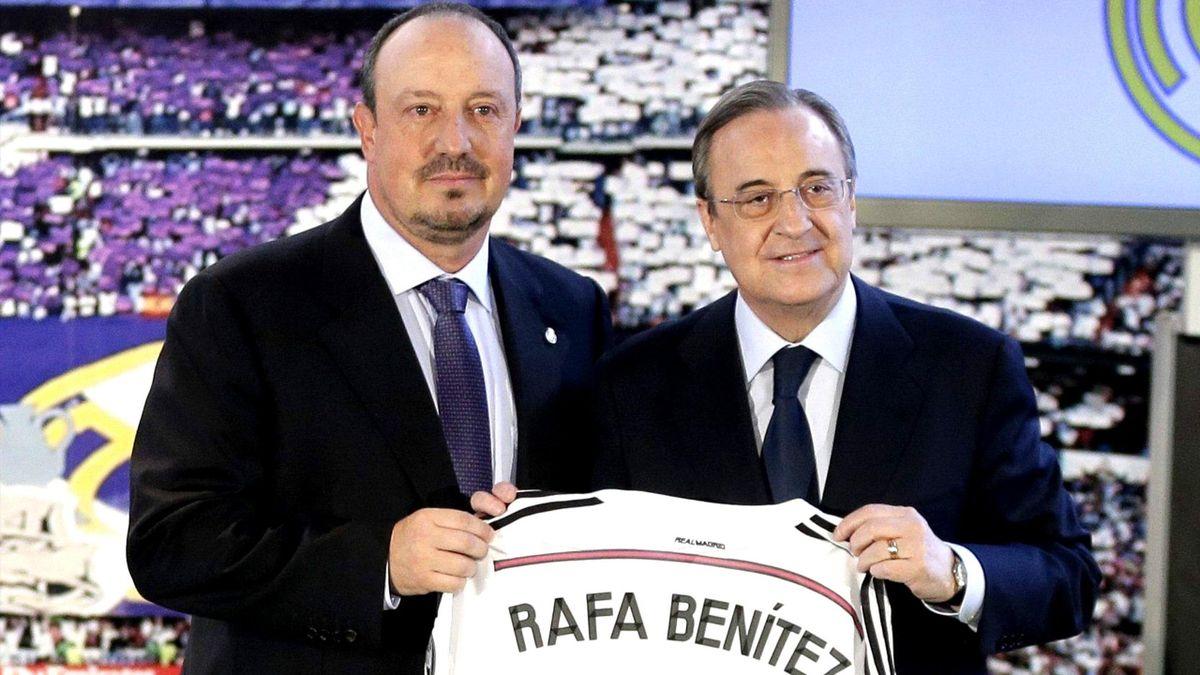 Was erwartet Benitez in Madrid?