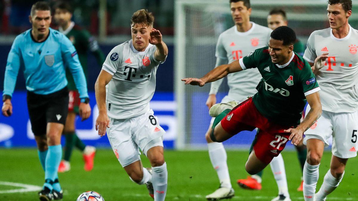 Joshua Kimmich - Lokomotive Moskau vs. FC Bayern