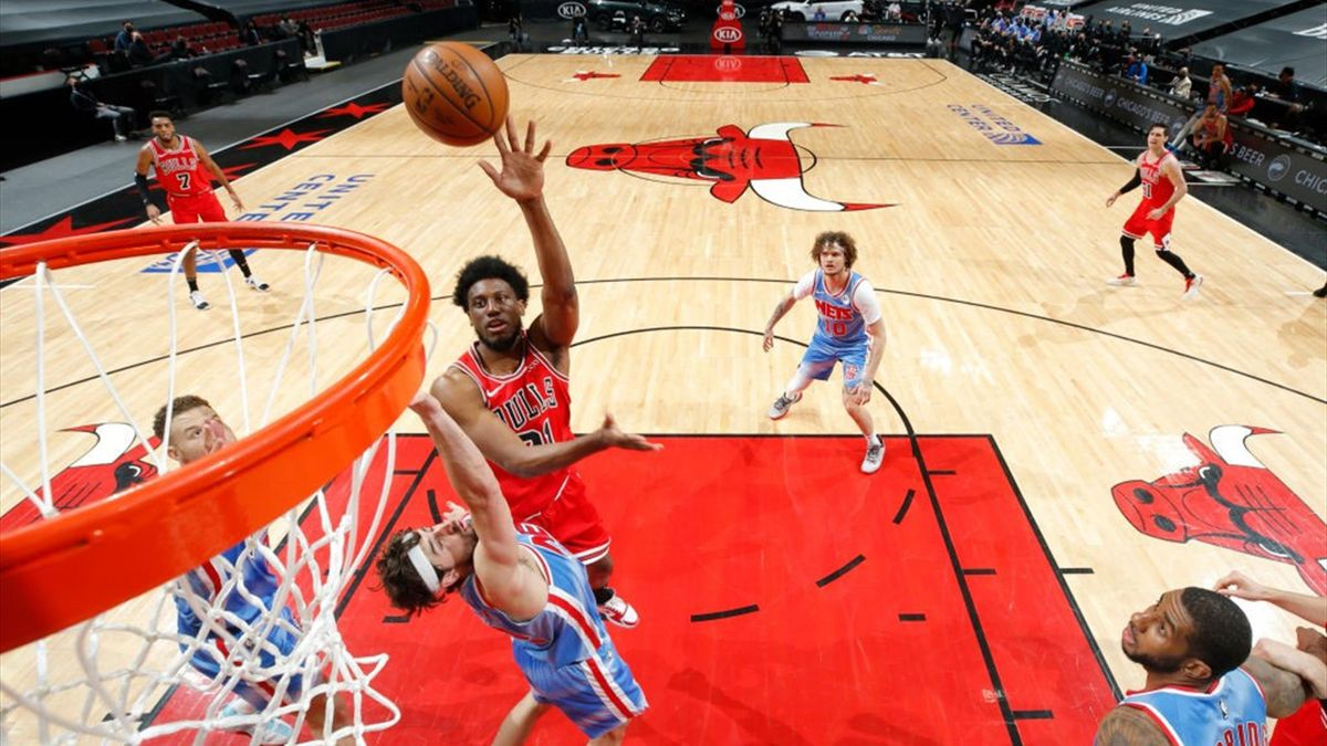 Thaddeus Young lors de Chicago - Brooklyn en NBA le 4 avril 2021