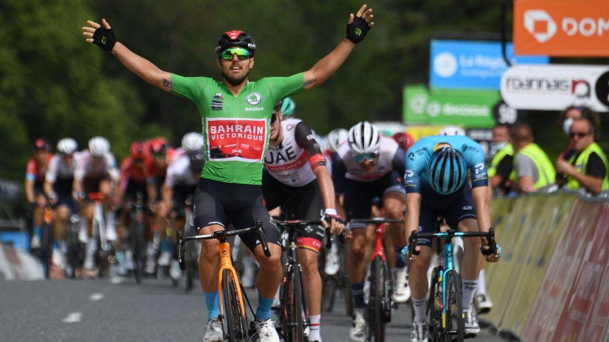 Sonny Colbrelli (Bahrain-Victorious) / Critérium du Dauphiné 2021