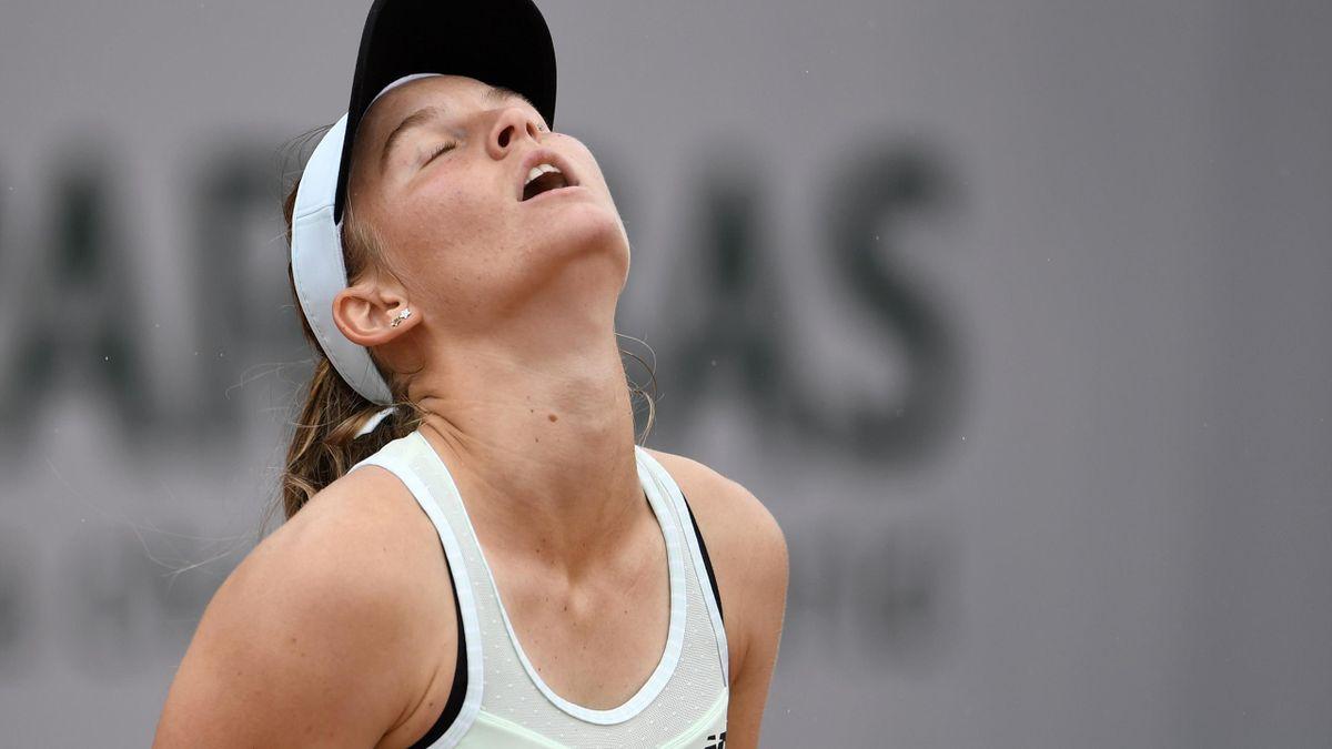 Carina Witthöft ist beim WTA-Turnier früh ausgeschieden