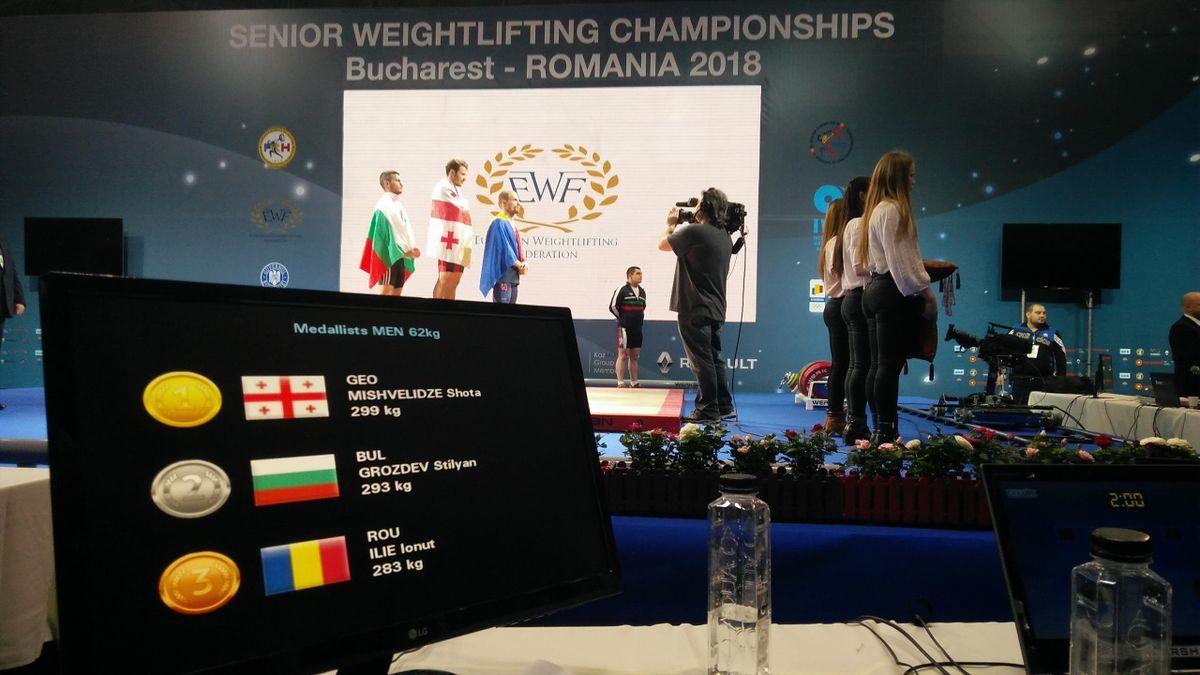 European Weightlifting Championships - Men 62kg