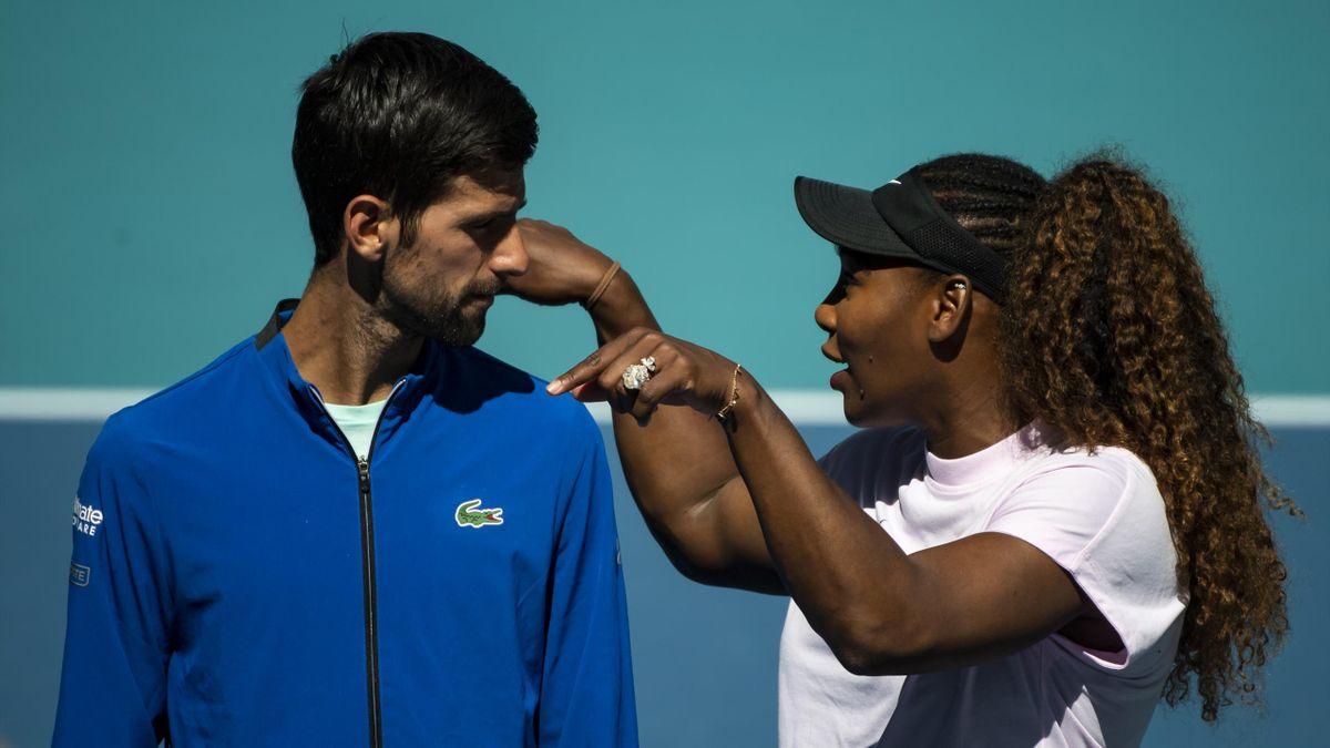 Novak Djokovic & Serena Williams