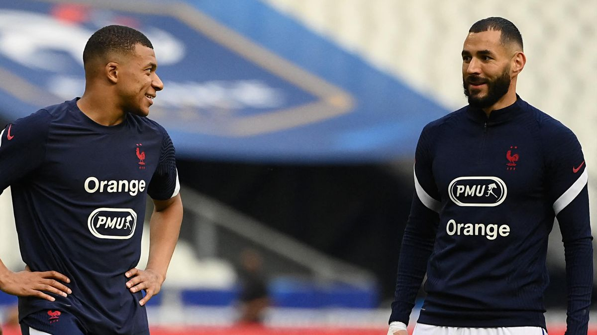 France's best attacking combination? Mbappe and Benzema
