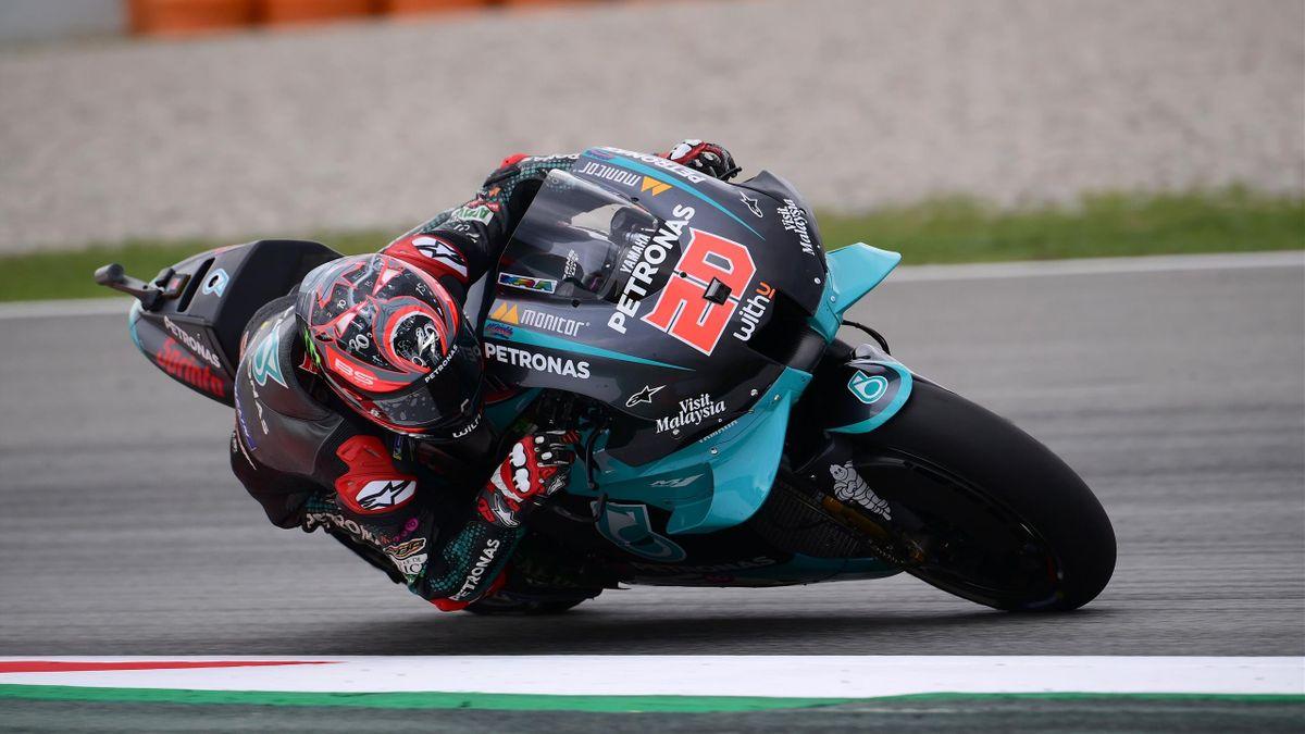 Fabio Quartararo sur le Grand Prix de Catalogne