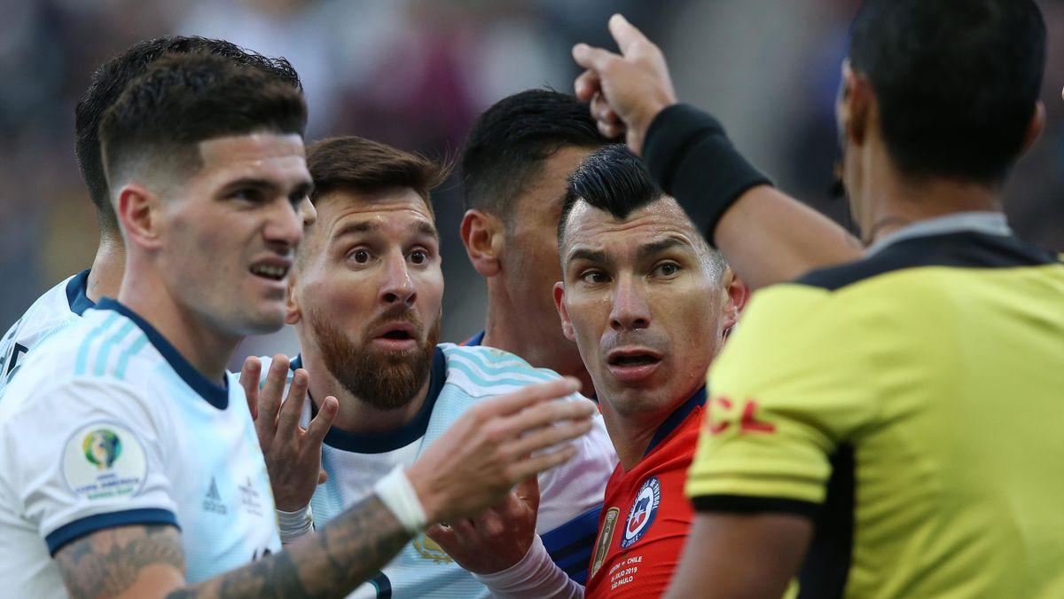 Copa America - Lionel Messi expulsé face au Chili