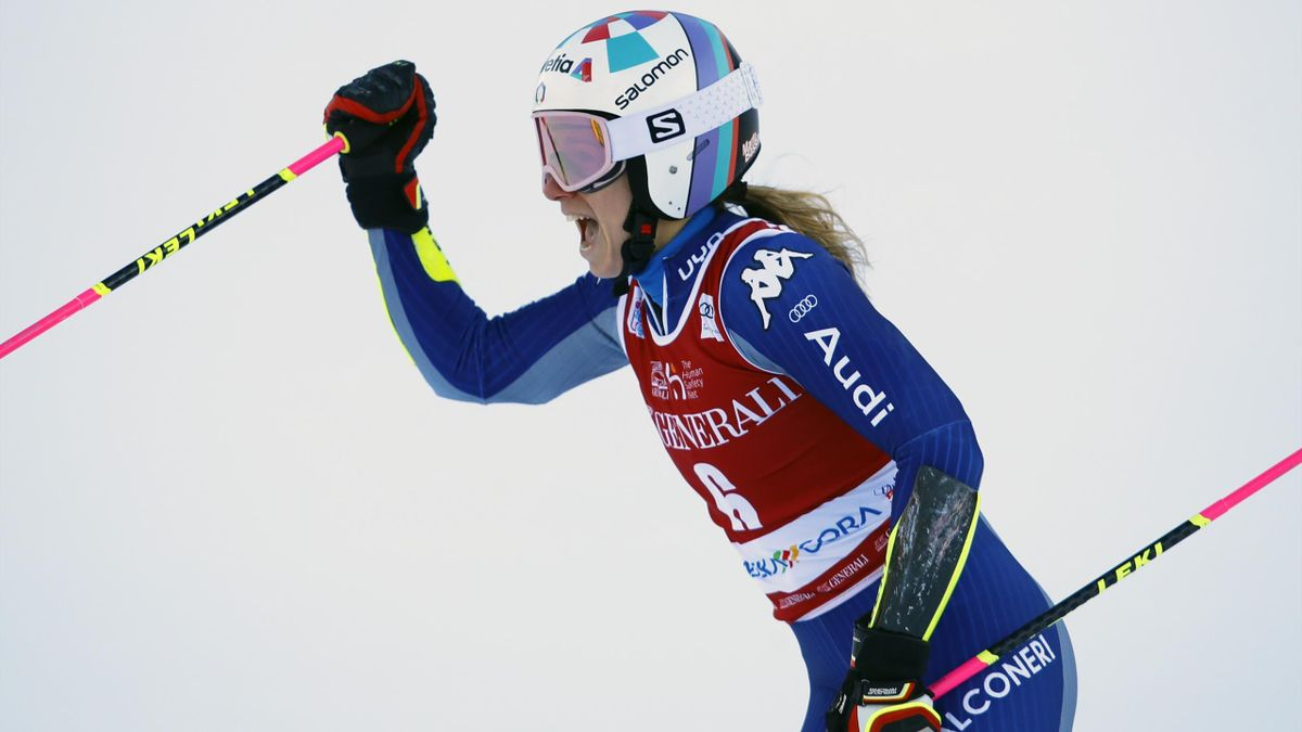 Marta Bassino gewinnt Slalom