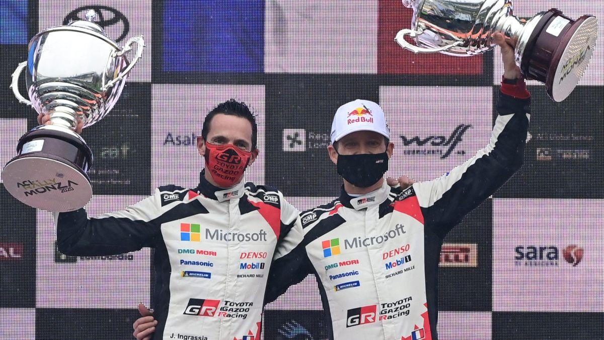 Sébastien Ogier - Julien Ingrassia (Toyota) / WRC Monza