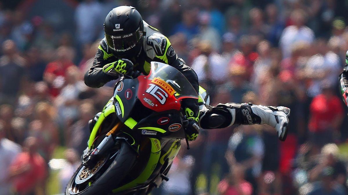 British Superbike rider Ben Godfrey