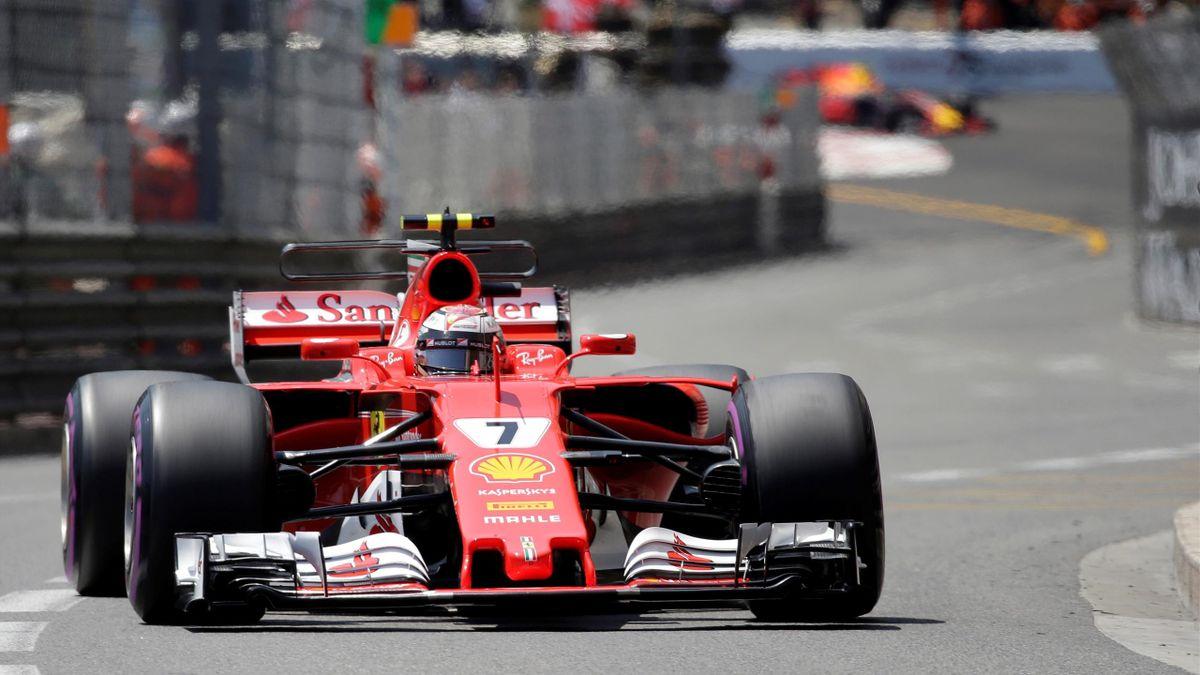 Kimi Raikkonen in Monaco