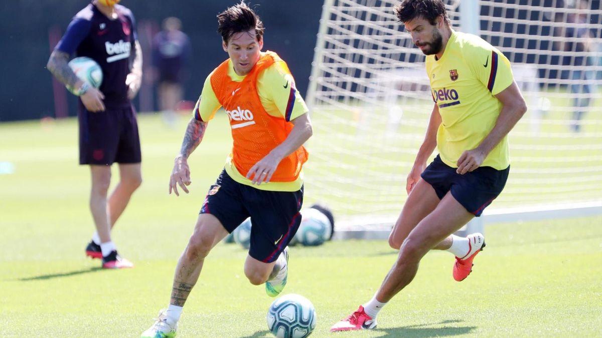 Leo Messi s-a întors la antrenamentele Barcelonei