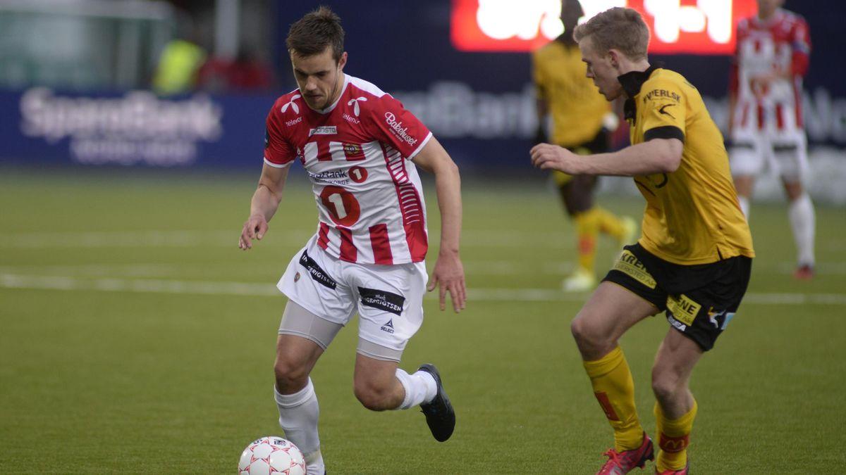Remi Johansen mot Lillestrøm i 2015