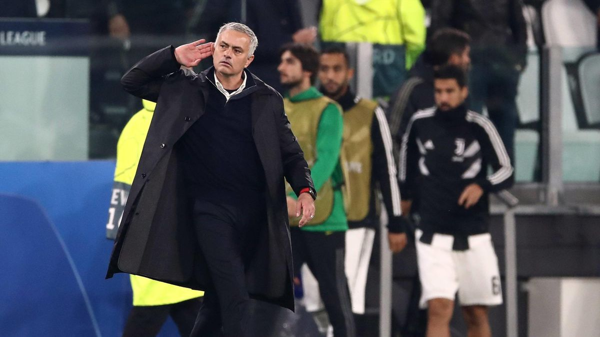 Mourinho - Juventus-Manchester United - Champions League 2018/2019 - Imago pub only in ITAxGERxSUIxAUT
